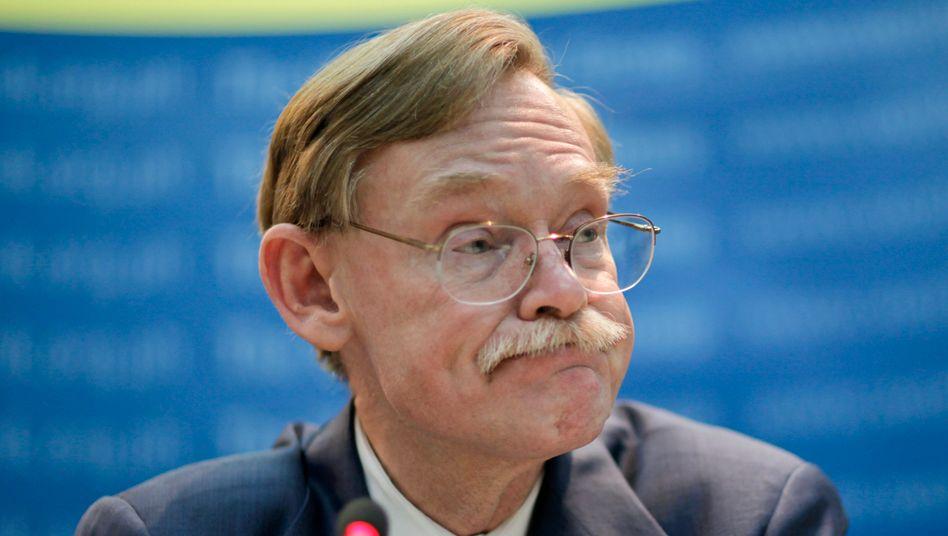 Weltbank-Chef Robert Zoellick: Japan und Europa machen ihm Sorgen