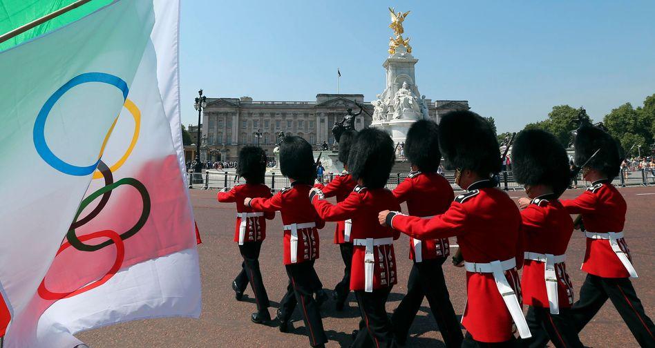 Olympia - Marsch, Marsch! London kurz vor der Eröffnungsfeier