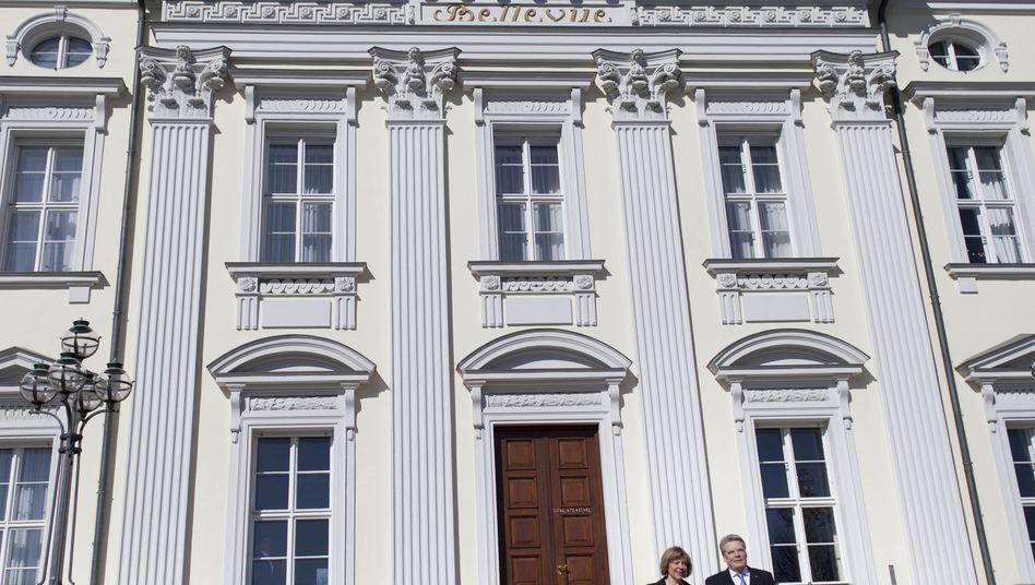 Neuer Hausherr: Bundespräsident Joachim Gauck hat den Amtssitz, Schloss Bellevue in Berlin, bezogen