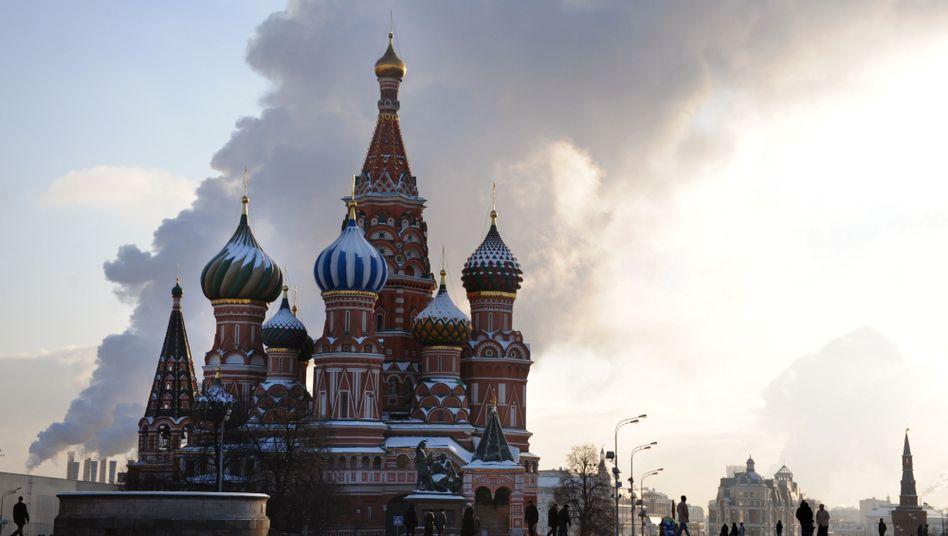 Roter Platz in Moskau: In der Metropole leben 77 Milliardäre