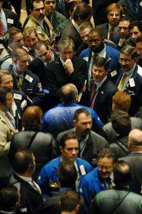 Händler an der NYSE: Wer an Ben glaubt, kauft