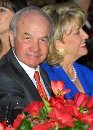 Besser kein Auftritt mehr: Ex-Enron-CEO Kenneth Lay mit Frau Linda