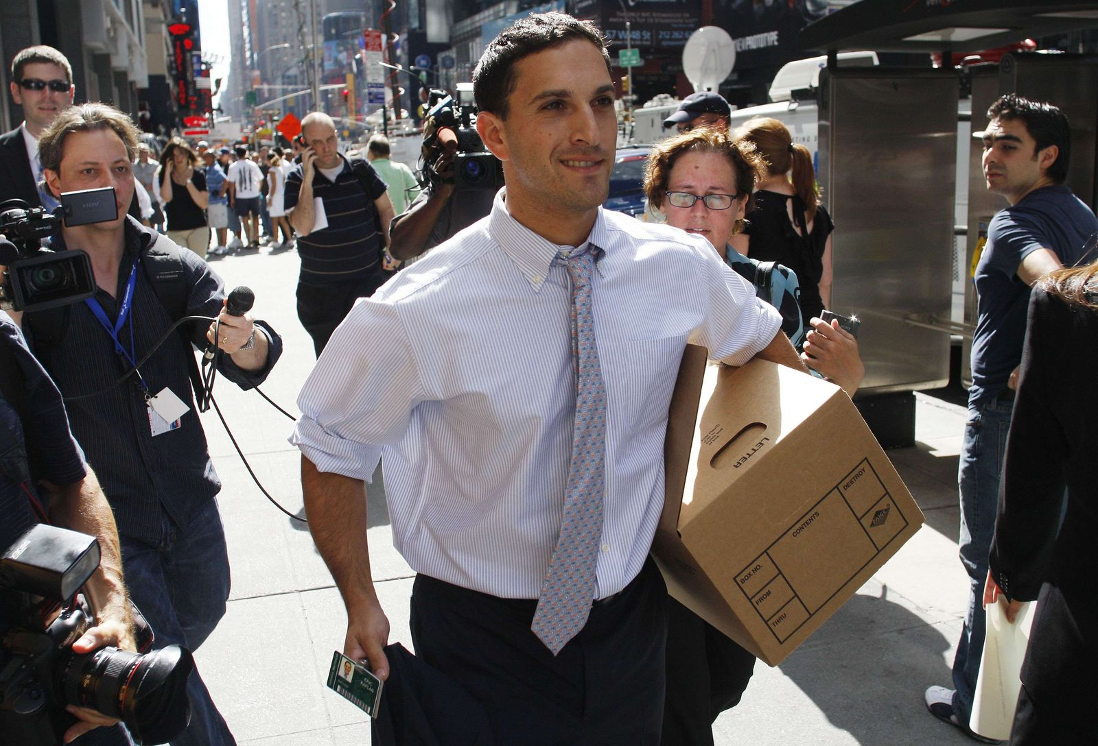 Finanzkrise/ Lehman Brothers