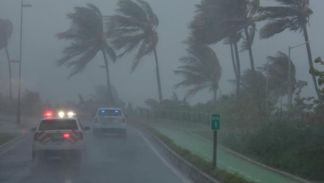 """Irma""-Auswirkungen in Puerto Rico"