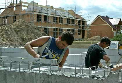 Es geht voran: Die Konditionen von Baukrediten haben sich zuletzt wieder verbessert