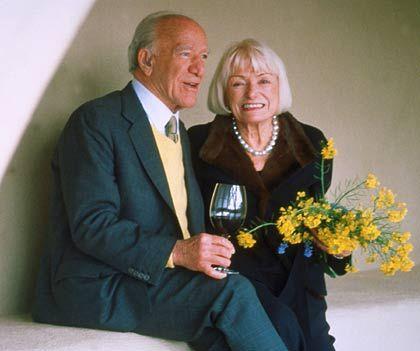Robert und Margrit Mondavi