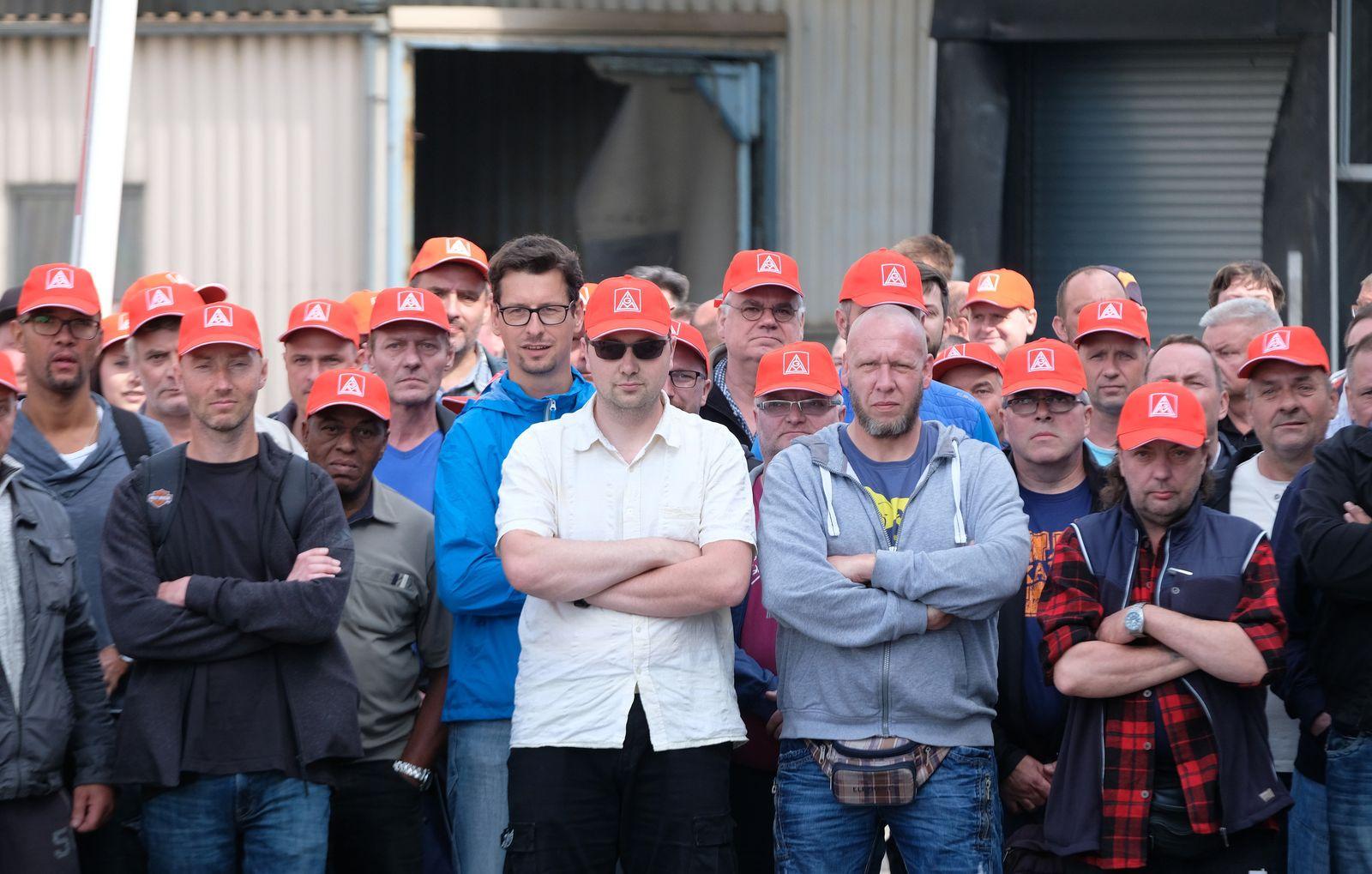 Unbefristeter Streik bei Neue Halberg Guss