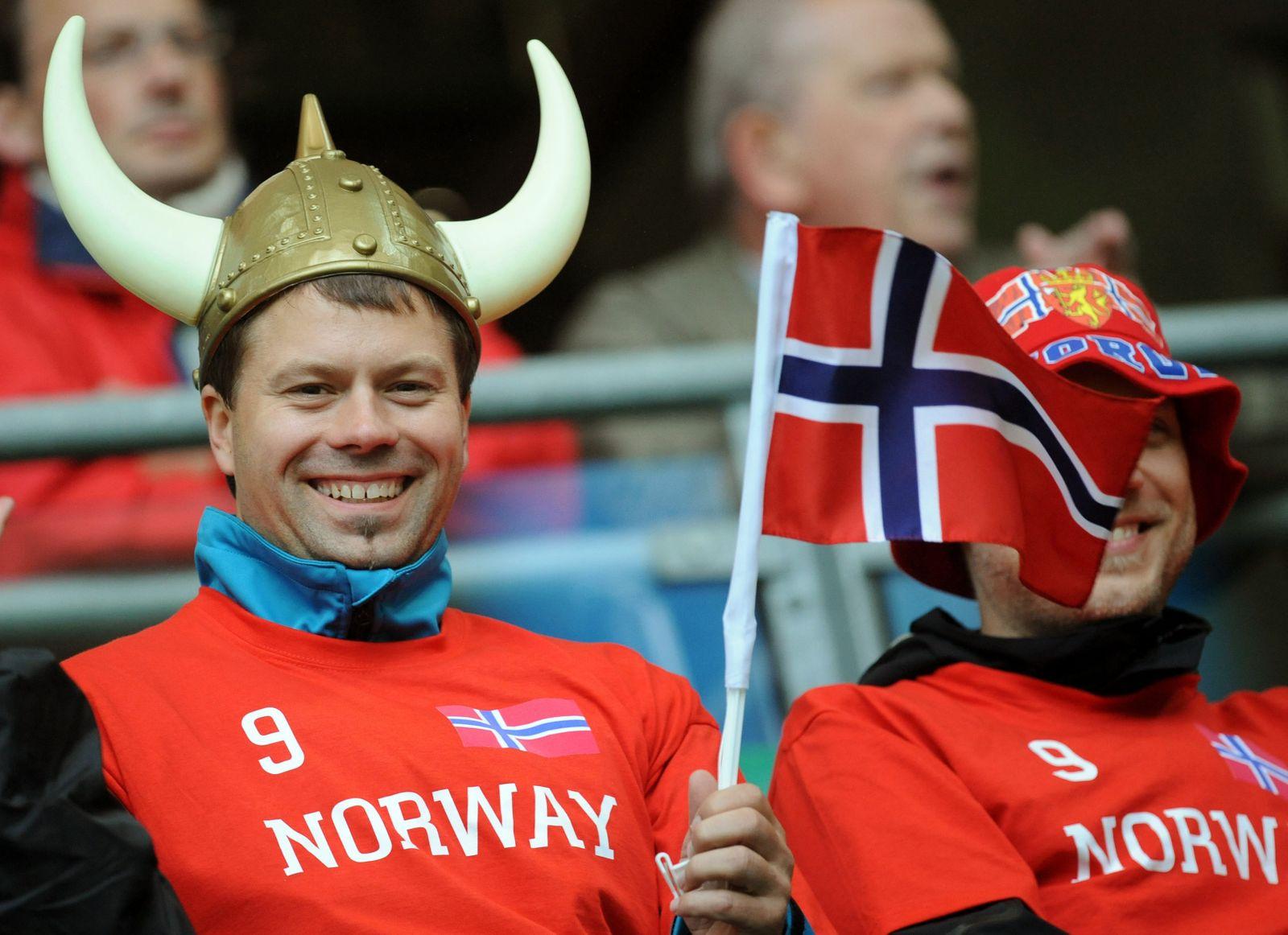 Norwegen Fan