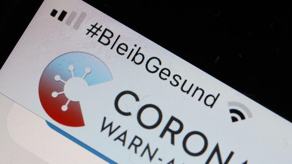 Icon der Krise: Corona-Warn-App.