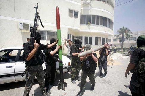 Eskalation des Konflikts: Hamas-Krieger in Gaza