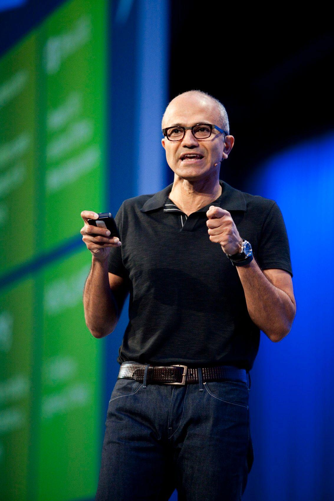 NICHT MEHR VERWENDEN! - Satya Nadella / Microsoft