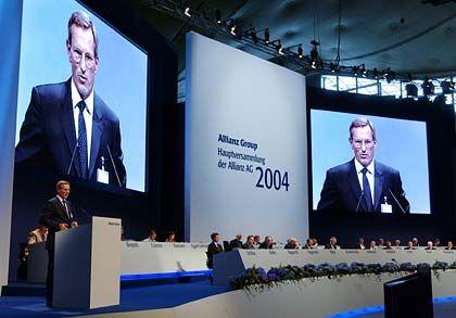 """""""Wir liefern, was wir versprochen haben"""": Allianz-Chef Diekmann auf der Hauptversammlung"""