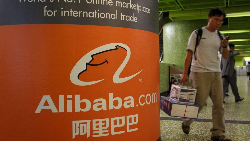 Investmentbanker buhlen um Alibaba: Der von Jack Ma gegründete chinesische E-Commerce-Riese könnte bereits Ende dieses Jahres an die Börse gehen