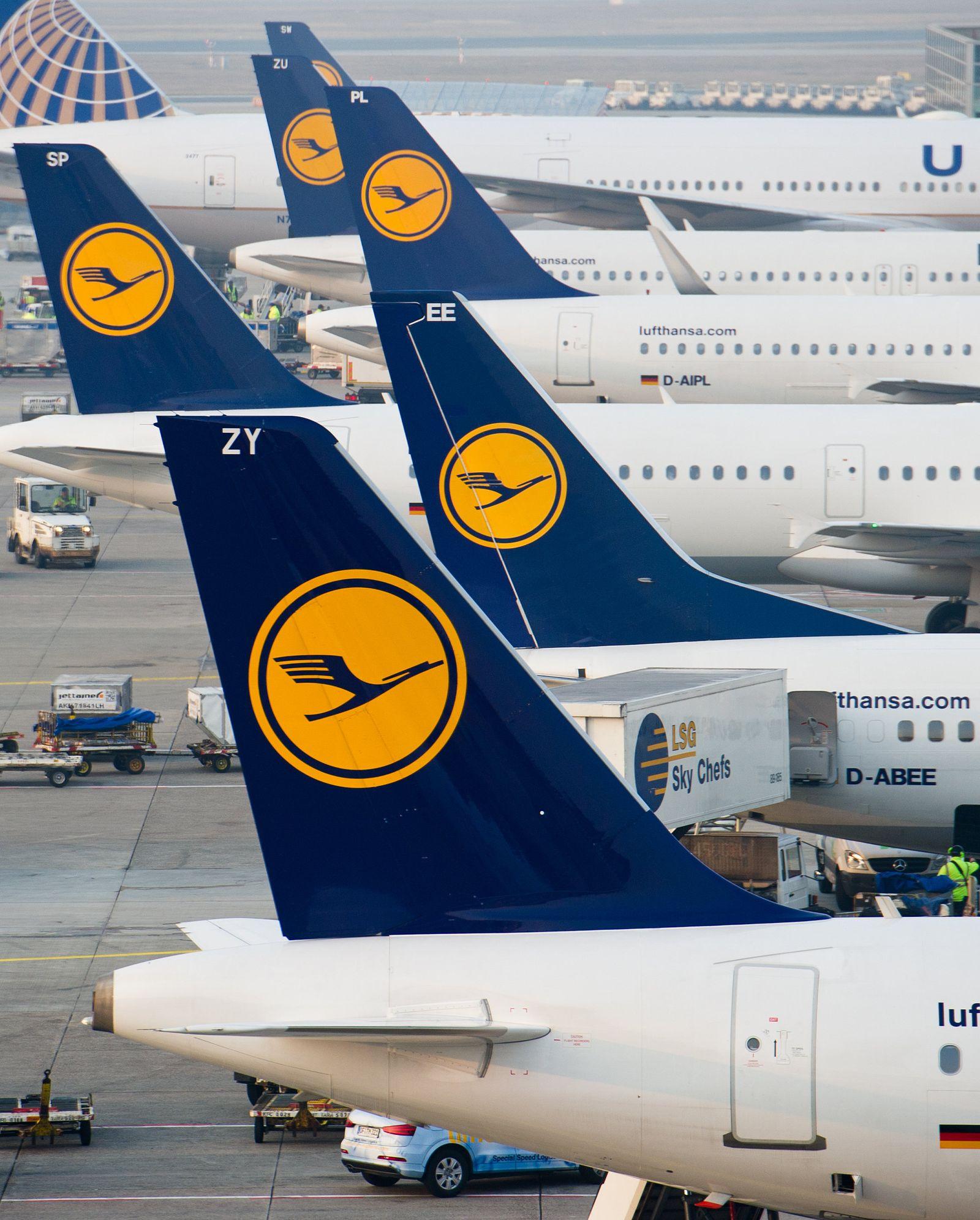 Piloten bestreiken die Lufthansa