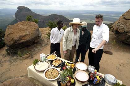 Open Air: Südafrikaner essen gern im Freien
