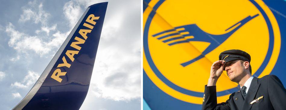 Ryanair und Lufthansa: Der Kampf um Gebühren-Rabatte ist eröffnet