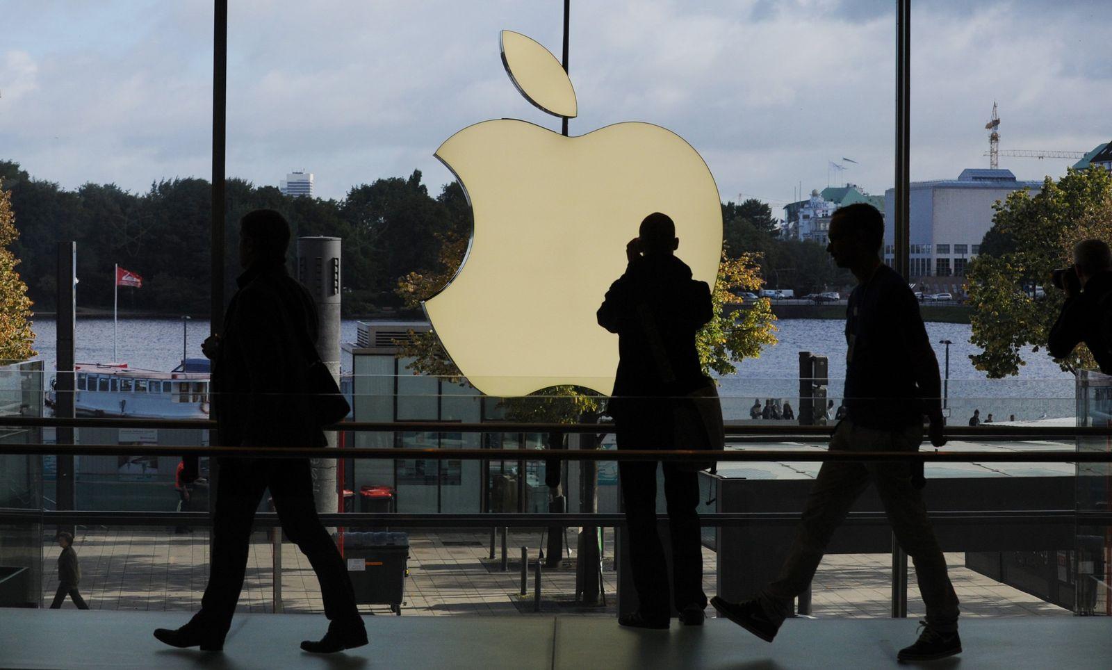 Apple-Store / Hamburg / Eröffnung