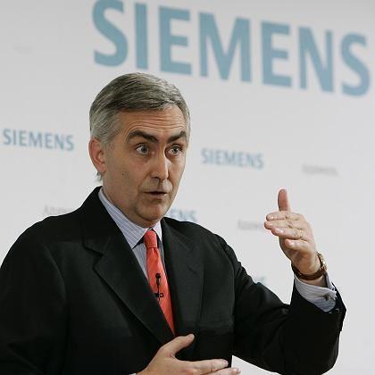 Greift durch: Siemens-Chef Löscher