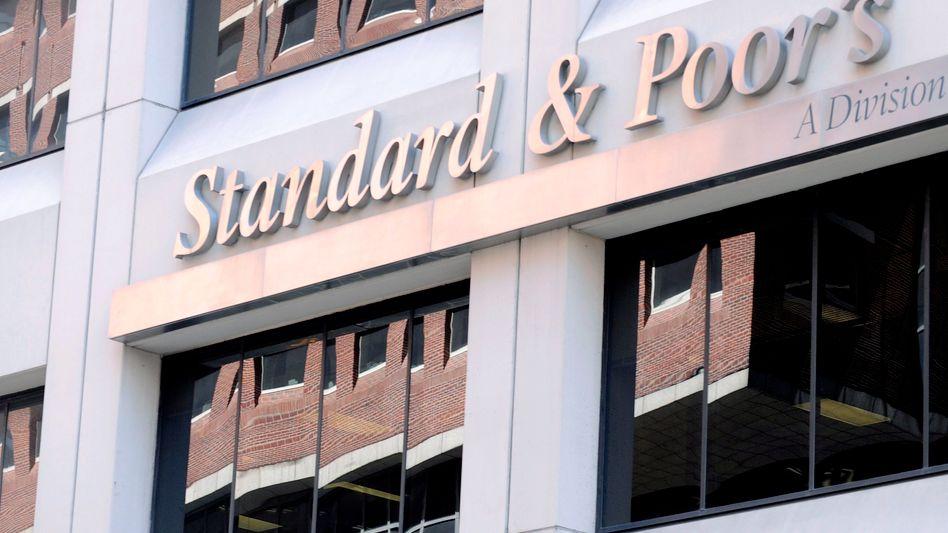 """Standard & Poor's: """"Ratingagenturen haben bei den beiden grössten Erschütterungen der Weltwirtschaft in jüngerer Zeit, der Finanzkrise und der europäischen Schuldenkrise, eine zentrale Rolle gespielt"""""""