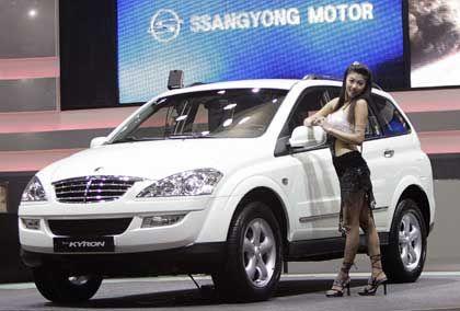 Seoul: Ssangyong stellte den Kyron in diesem Jahr auf Motor Show in Koyang vor