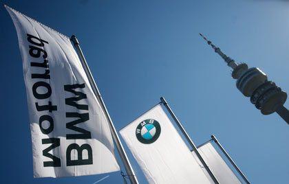Gesuchte Aktie: BMW-Papiere setzten sich am Dienstag an die Dax-Spitze