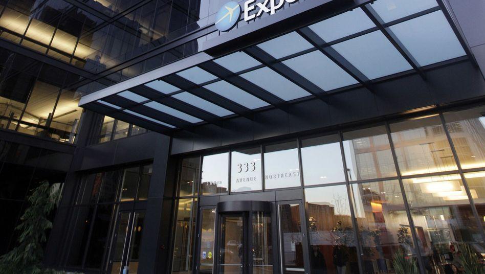 Expedia-Zentrale in Bellevue, US-Staat Washington