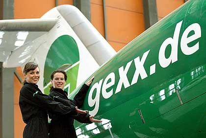 Gexx-Stewardessen: Das Gros von Bischoffs Mitarbeitern stammt aus den neuen Bundesländern.