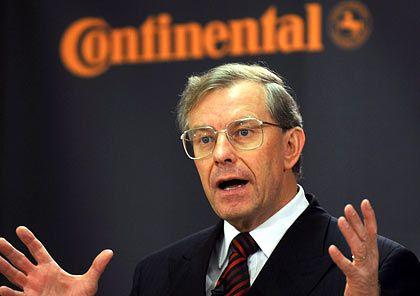 """Ex-Conti-Chef Wennemer: """"Selbstherrlich, egoistisch und verantwortungslos"""""""