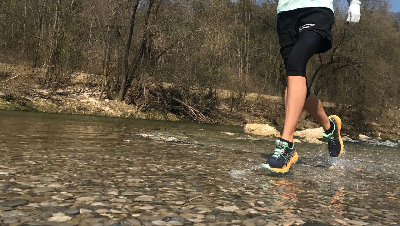 Laufen, um die Zeiten zu verkürzen