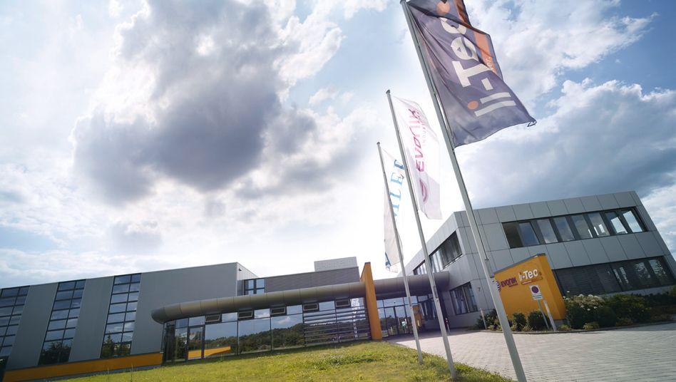 Gebäude von Li-Tec in Kamenz: Ab Ende 2015 werden hier keine Batteriezellen mehr produziert