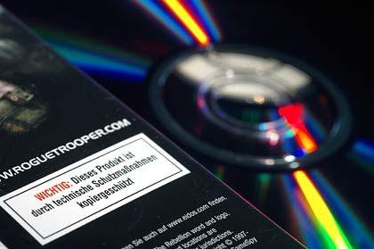 Erlaubt trotz Kopierschutzes: Für den Privatgebrauch ist das Brennen von CDs und DVDs nach wie vor zulässig