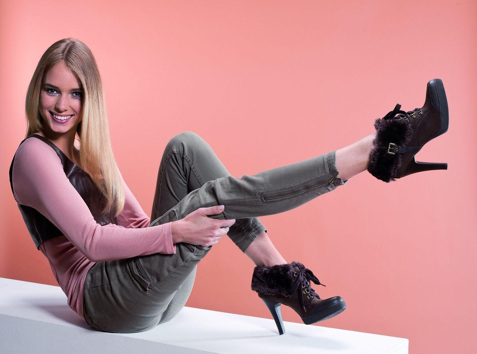 EINMALIGE VERWENDUNG Warm, lässig und männlich: Die Schuhe im kommenden Winter