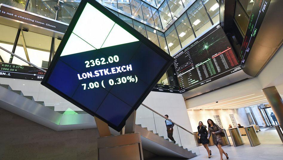 Fusion auf Augenhöhe: Die Börse in London (Bild) und die Deutsche Börse sind sich über wichtige Fragen der angestrebten Fusion einig