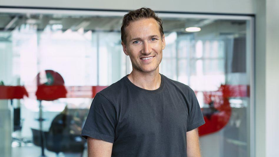 T-Shirt statt Anzug: Niklas Östberg, Chef von Delivery Hero, gibt sich leger