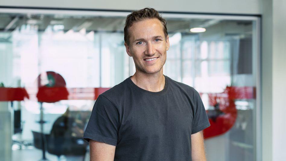 Niklas Östberg ist Schwede und Vorstandschef des Dax-Aufsteigers Delivery Hero
