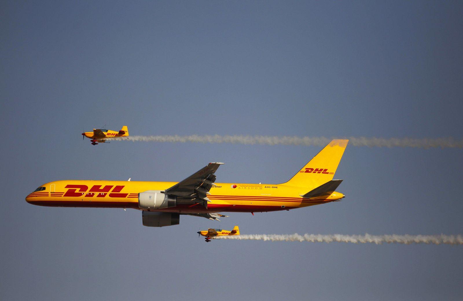 DHL, Bahrain, Flugzeug