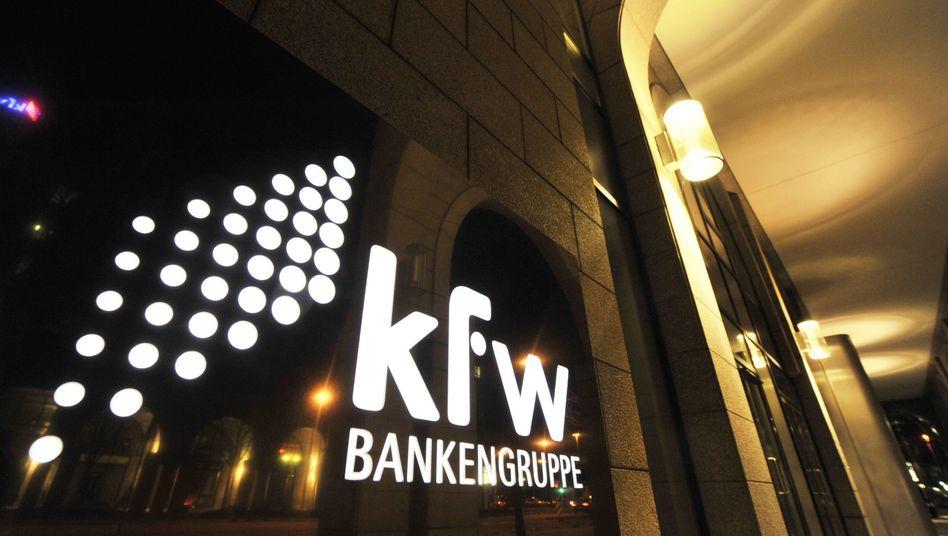 """KfW-Sitz in Frankfurt: """"Die Euro-Rettung lohnt sich"""""""
