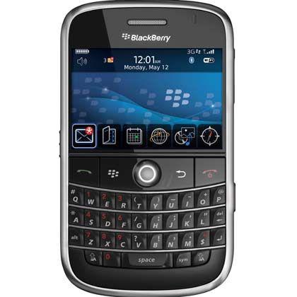 Der Tastatur treu: Blackberrys sind im Geschäftsbereich deutlich weiter verbreitet als das iPhone