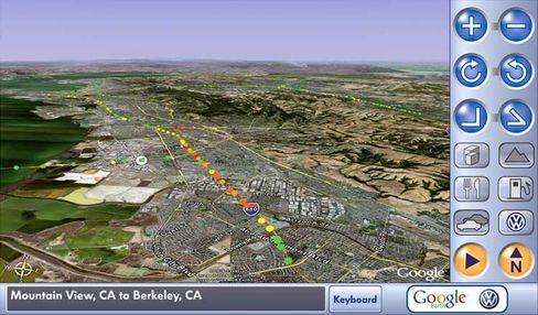 Leitsystem: Google und VW arbeiten zusammen an einem Navigationssystem