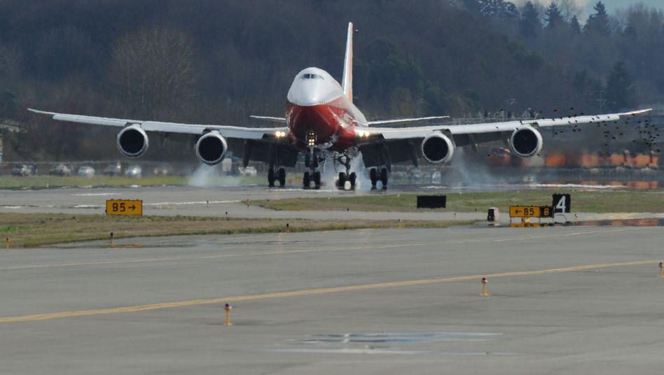 Boeings größtes Passagierflugzeug: Die 747-8 Intercontinental hat ihren Erstflug erfolgreich beendet