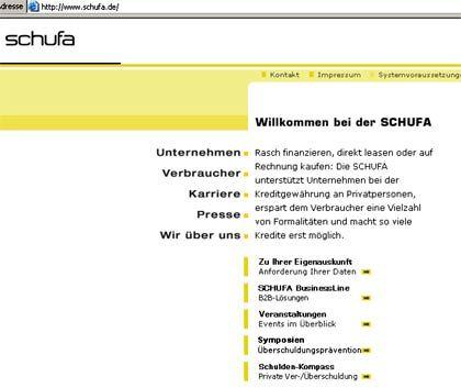 Keine bösen Überraschungen mehr: Unter www.schufa.de können Nutzer demnächst ihre Schufa-Informationen einsehen