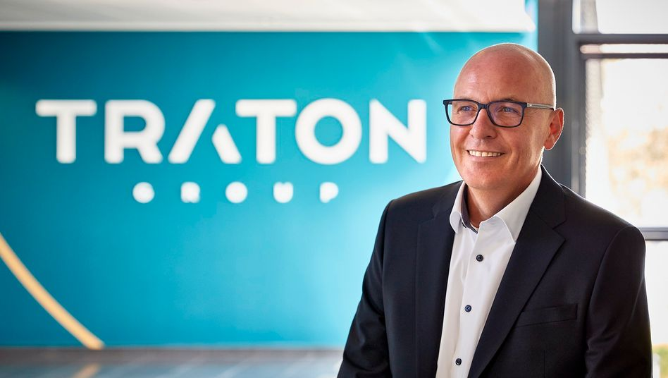 Optimistisch: Traton-Chef Matthias Gründler