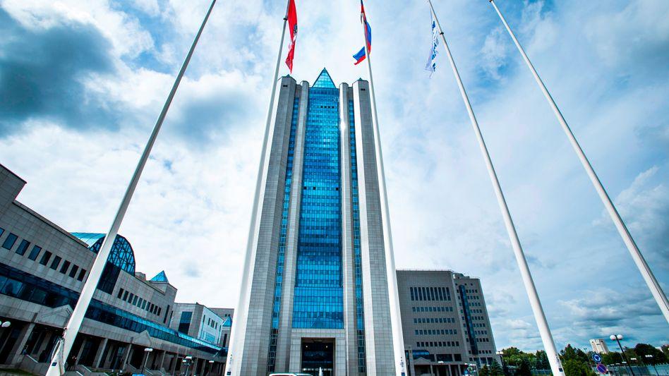 Neuer Osthandel: Die Gazprom-Zentrale in Moskau