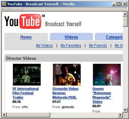 Schwer zu finden: Über Google Video lassen sich die Clips von YouTube kaum finden