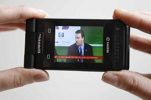 TV für die Hosentasche: Ein DVB-H-Handy von Sagem