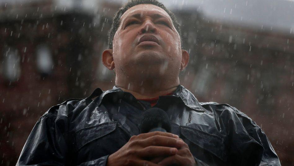 Sah sich als Kämpfer der Unterdrückten: Venezuelas Präsident Chávez