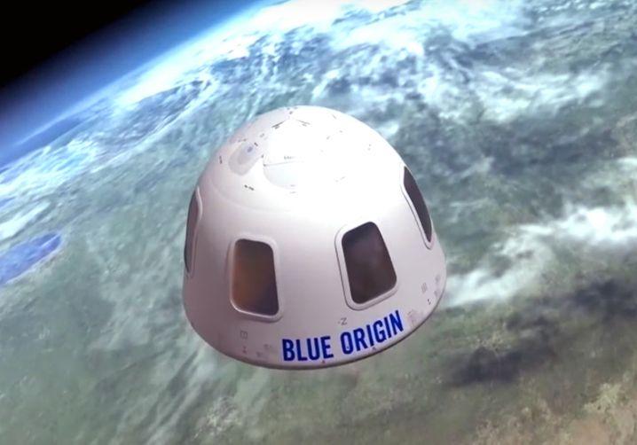 Ein Flug, der die Sicht auf die Welt verändert: Das verspricht Bezos' Raumfahrtunternehmen Blue Origin, im Juli will es erstmals einen Touristen ins All schießen