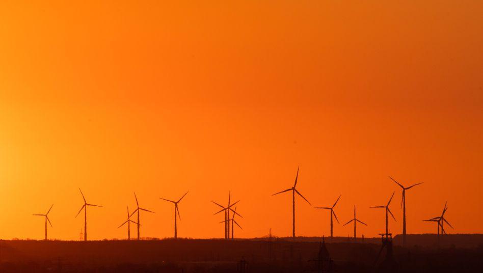 Windkraftanlagen bei Hannover