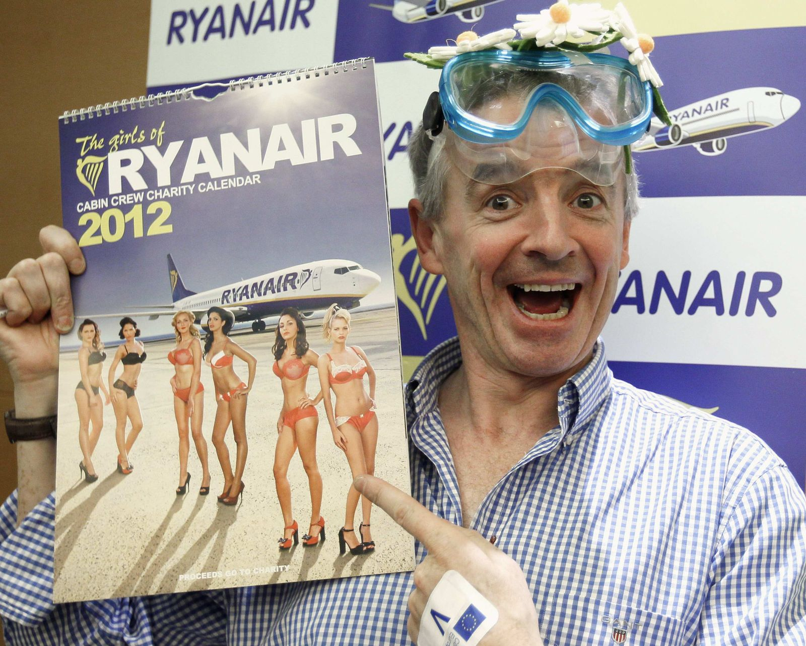 Ryanair / Michael OLeary / Kalender