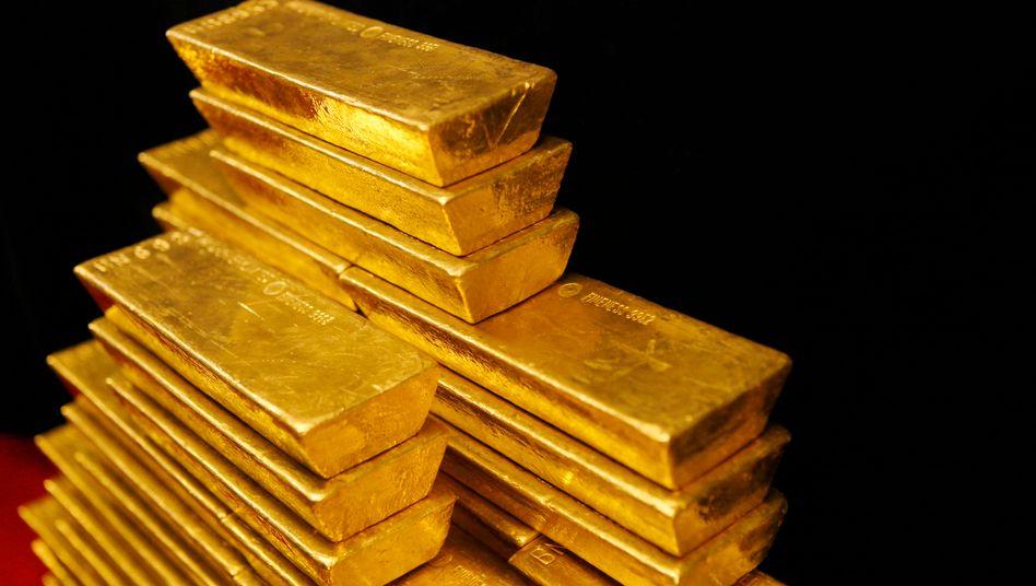 Goldbarren: Der Preisanstieg des Edelmetalls könnte noch eine Zeit lang weitergehen